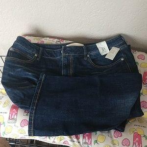 Maurices Slim boot jeans Dark wash